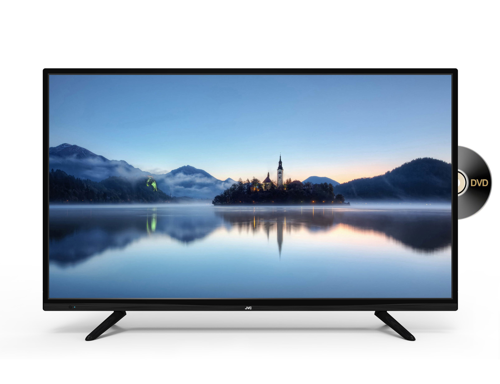 40 Full Hd Led Tv With Dvd Player Jvc Tv